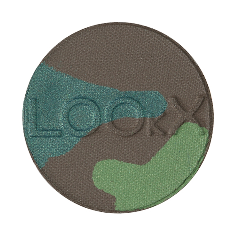 LOOkX EYESHADOW N°806 Woodforest (comb groen) nj 2015