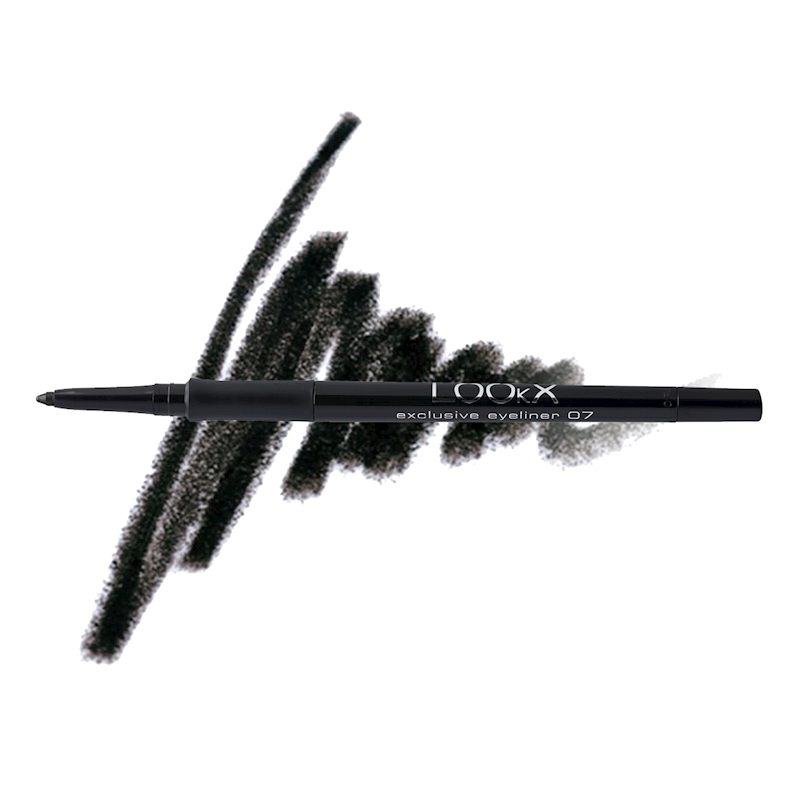 LOOkX EXCLUSIVE EYELINER NR07 Deep Black Matt