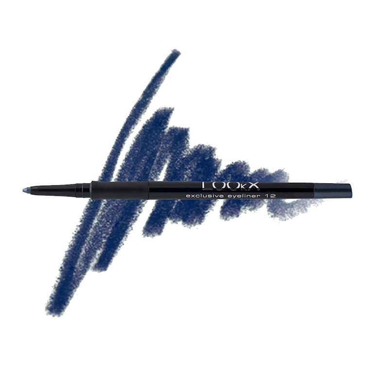 LOOkX EXCLUSIVE EYELINER NR12 Denimblue Pearl