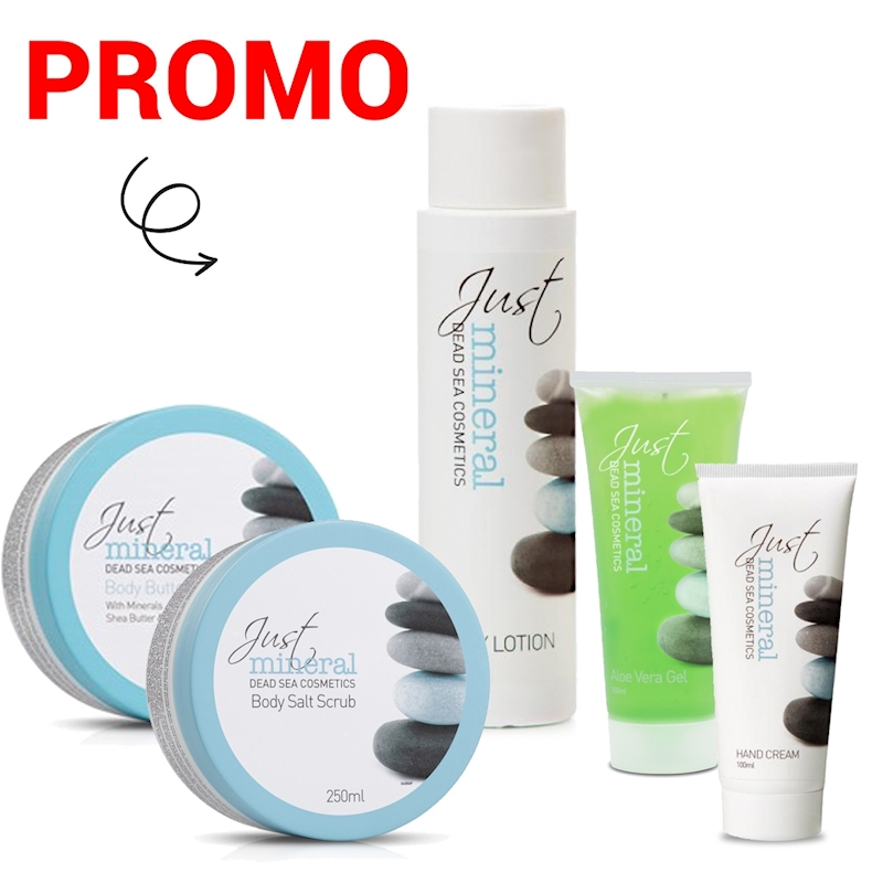 PROMO JUST MINERAL BODY PAKKET (5producten)
