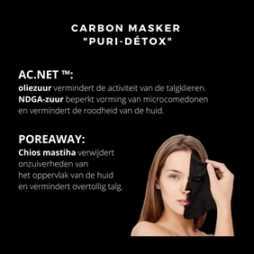 CARBON MASK 5st